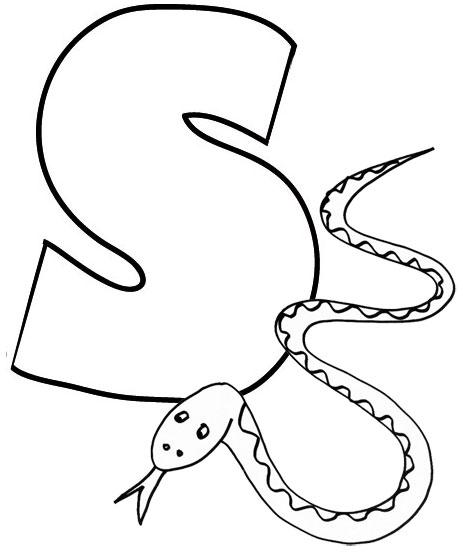 S le savoir - Dessin de serpent ...